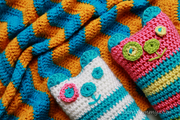 two new crochet projects