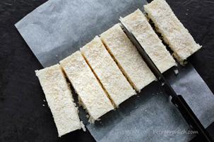 No-Bake Coconut Bars Recipe