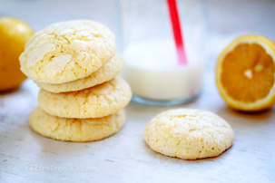 Soft Melt-In-Your-Mouth Lemon Cookies Recipe
