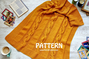 knit-cable-baby-blanket
