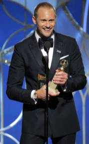 Alexander Skarsgaard Wins The Best Performance by an Actor in a Supporting Role in a Series For Big Little Lies