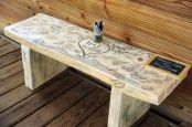 Bench Wedding Guestbook