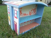 DIY Old Dresser Drawers Into A DollHouse