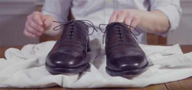 How To Lace Your Oxfords & Dress Shoes