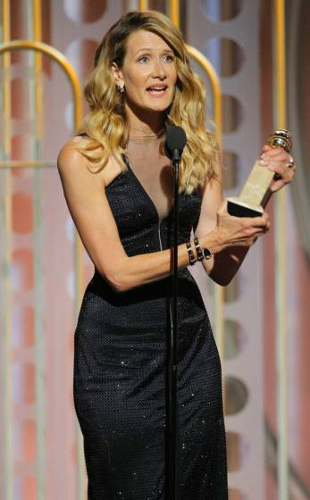 Laura Dern Wins The Best Performance by an Actress in a Supporting Role For Big Little Lies