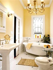 Lydia Chandelier Pottery Barn Bathroom