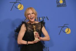 Nicole Kidman Wins The Best Performance by an Actress in a Limited Series For Big Little Lies