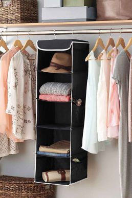 Shelf Hanging Closet Organizer