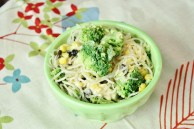 Smoky Southwestern Kelp Noodle Bowl With Black Beans and Corn