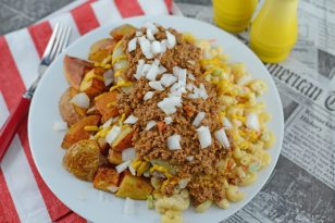 Rochester Style Garbage Plate Recipe