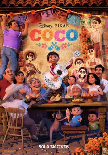 """Coco"" (Lee Unkrich, Adrian Molina) For Best Animated Feature"