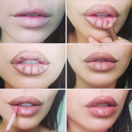 3 Steps For Contouring To Get Fuller Lips