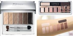 Dior 001 Eye Reviver Backstage Pros Illuminating Neutrals Vs Catrice Essential Nude Collection Eye shadow Palette