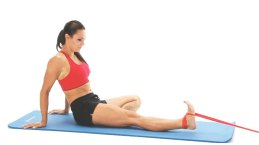 Dorsi Flexion With Resistance Band