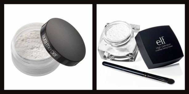 Drugstore dupes – Setting powders from ELF vs. Laura Mercier