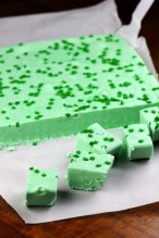 Drunkin Grasshopper Fudge