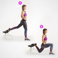 Elevated Split Squat