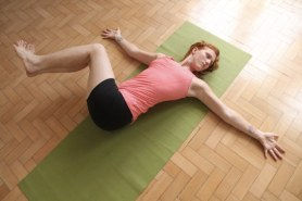 Two Knee Spinal Twist