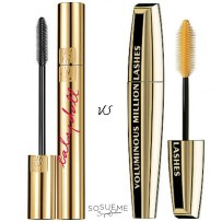 YSL Baby Doll Lashes VS L'Oreal Volume Million