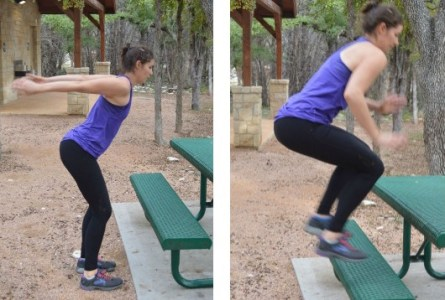 Bench-Jumps