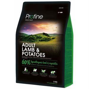 Корм для взрослых собак всех пород с ягнёнком и картофелем Profine Adult Lamb & Potatoes