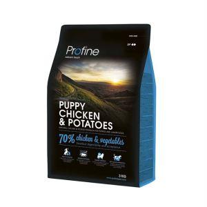 Корм для щенков всех пород с курицей и картофелем Profine Puppy Chicken Potatoes