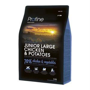 Корм для щенков и молодых собак крупных пород с курицей и картофелем Profine Junior Large Breed Chicken and Potatoes