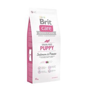 Корм для щенков и молодых собак всех пород Brit  Care GF Puppy Salmon & Potato