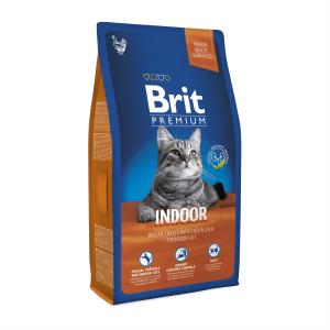 Корм для кошек живущих в помещении Brit Premium Cat Indoor