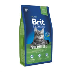 Корм для стерилизованных кошек Brit Premium Cat Sterilised