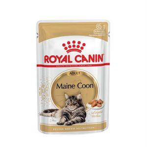 Влажный корм для кошек породы Мейн-кун Royal Canin MAINE COON ADULT в соусе