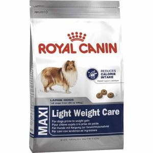 Сухой корм для собак крупных пород склонных к избыточному весу Royal Canin MAXI LIGHT WEIGHT CARE