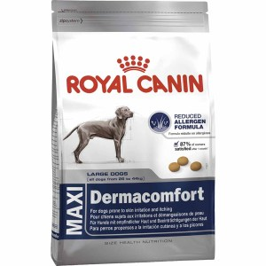 Сухой корм для собак крупных пород с раздраженной и зудящей кожей Royal Canin MAXI DERMACOMFORT