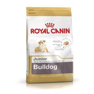 Сухой корм для щенков породы английский Бульдог Royal Canin BULLDOG JUNIOR (до 12 месяцев)