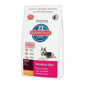 Корм для собак с чувствительной кожей Hill's SP Canine Adult Sensitive Skin с курицей
