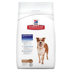 Корм для собак средних пород старше 7 лет - Активное долголетие Hill's SP Canine Mature Adult 7+ Active Longevity Medium Ягненок и Рис
