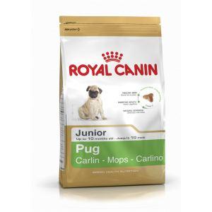 Сухой корм для щенков породы Мопс Royal Canin PUG JUNIOR (до 10 месяцев)