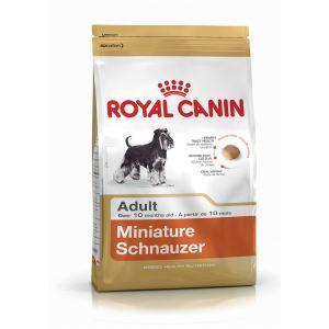Сухой корм для собак породы Миниатюрный шнауцер Royal Canin Miniature SCHNAUZER ADULT (старше 10 месяцев)