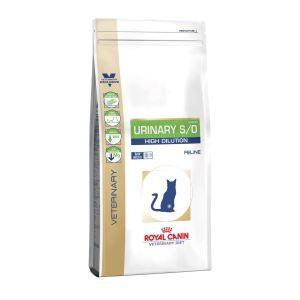Лечебный сухой корм для кошек при лечении мочекаменной болезни Royal Canin URINARY S/O FELINE HIGH DILUTION