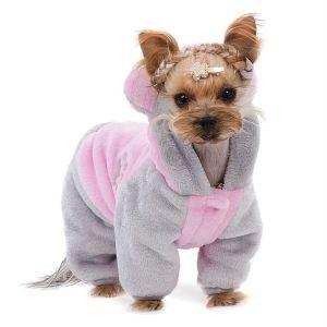 """Костюм для собак Pet Fashion """"Альф"""" мятный/черный,розовый/серый 2018"""