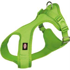 """Шлея для собак """"Soft"""" мягкая Trixie S 33-50 см./20 мм. зеленая, красная, петрол, фуксия, черная"""