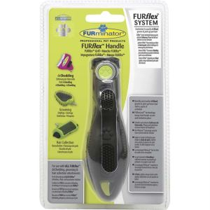 FURflex ручка на грабли, пуходерку, колтунорез, расческу, щетку