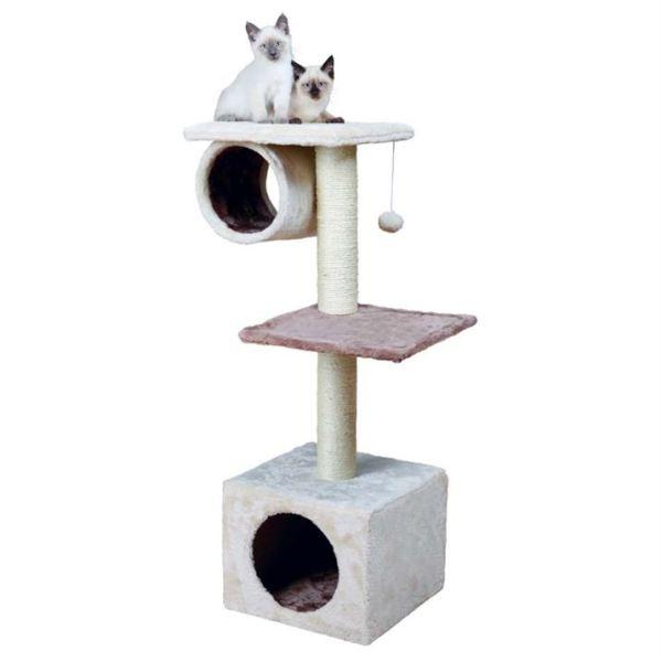 """Дряпка для кошек """"Sina"""" Trixie кремовая/капуччино 106 см."""
