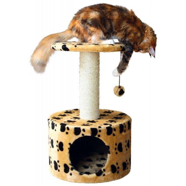 """Дряпка для кошек """"Toledo"""" Trixie бежевая, серая 61 см."""
