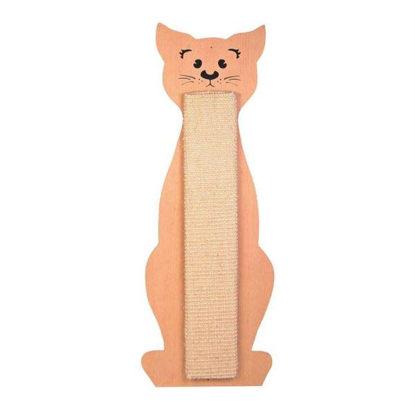 """Дряпка плоская для кошек """"Cat Contour"""" Trixie бежевая 21х58 см."""