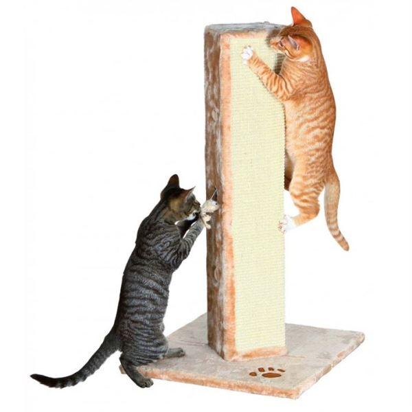 "Дряпка-столбик для кошек ""Soria"" Trixie бежевая 80 см."