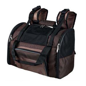 """Рюкзак-переноска для собак """"Shiva"""" Trixie коричневый 41 x 30 x 21 см. (до 8 кг.)"""