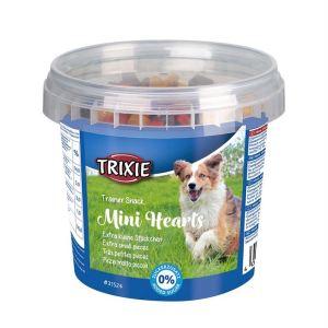 "Лакомство для собак ""Mini Hearts"" Trixie пластиковое ведро 200 гр. (ассорти)"