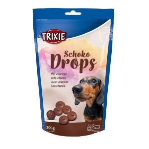 """Лакомство для собак """"Schoco Drops"""" Trixie 75 гр.; 200 гр.; 350 гр. (шоколад)"""