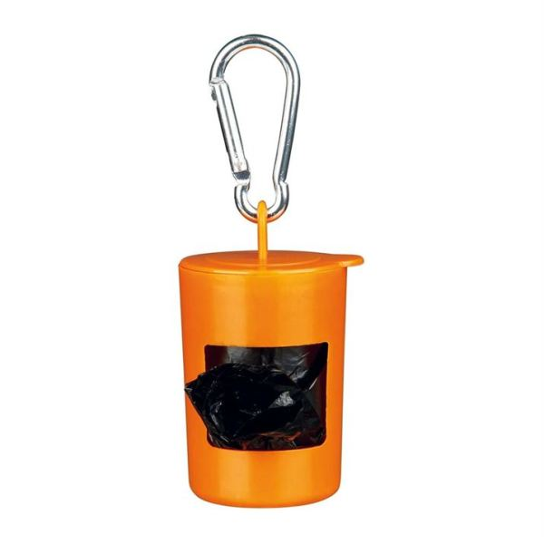 Сумка+пакеты M 2 рулона (по 20 шт.) для уборки фекалий собак Trixie пластик